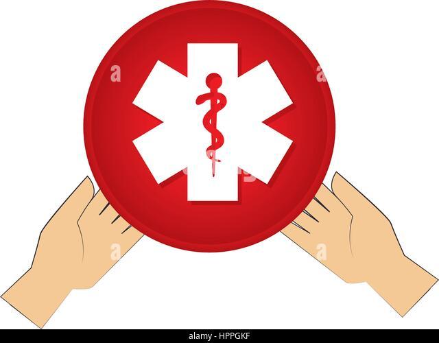Star Ems Emergency Snake Stockfotos & Star Ems Emergency Snake ... | {Sanitäter symbol 86}