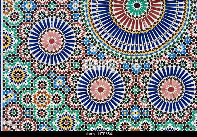 Tiles Marrakech Stockfotos & Tiles Marrakech Bilder Alamy