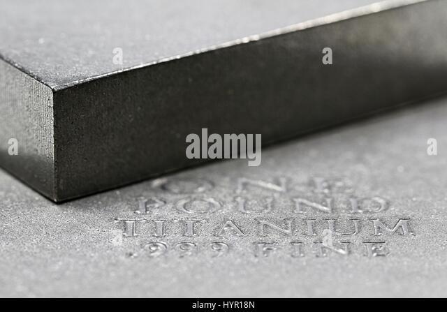 Titanbarren  Titanium Stockfotos & Titanium Bilder - Alamy