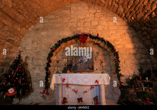synagogue church nazareth altar stockfotos synagogue. Black Bedroom Furniture Sets. Home Design Ideas