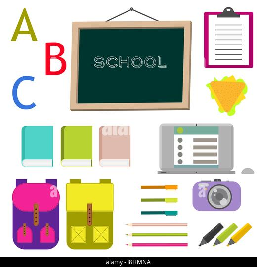 Tafel schreiben clipart  Clipart Illustration Preschool Classroom Stockfotos & Clipart ...