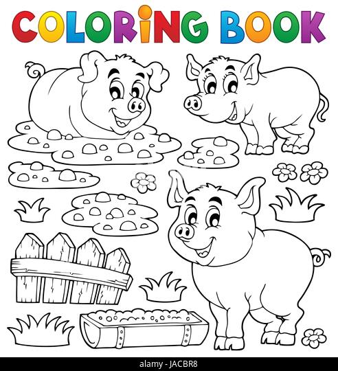 Berühmt Schwein Zum Färben Fotos - Beispiel Wiederaufnahme Vorlagen ...