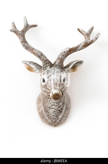 moose head christmas stockfotos moose head christmas bilder alamy. Black Bedroom Furniture Sets. Home Design Ideas