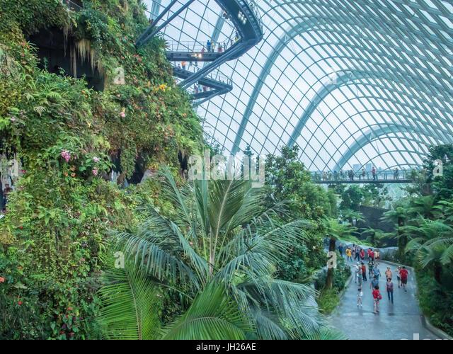 Gardens Bay Singapore Stockfotos & Gardens Bay Singapore Bilder ...