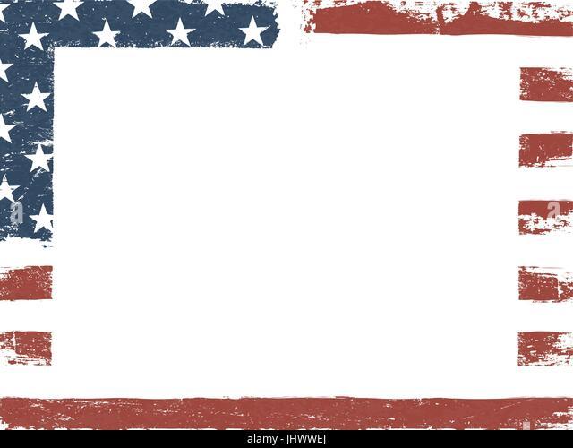 amerika fähnchen zum ausdrucken