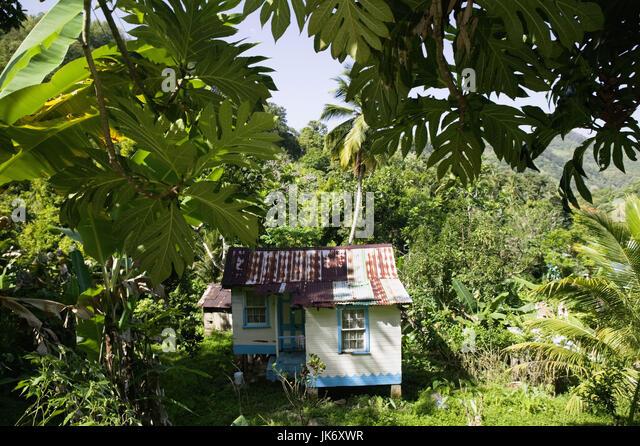 Strandhaus karibik holz  Abgeschiedenheit Stockfotos & Abgeschiedenheit Bilder - Alamy