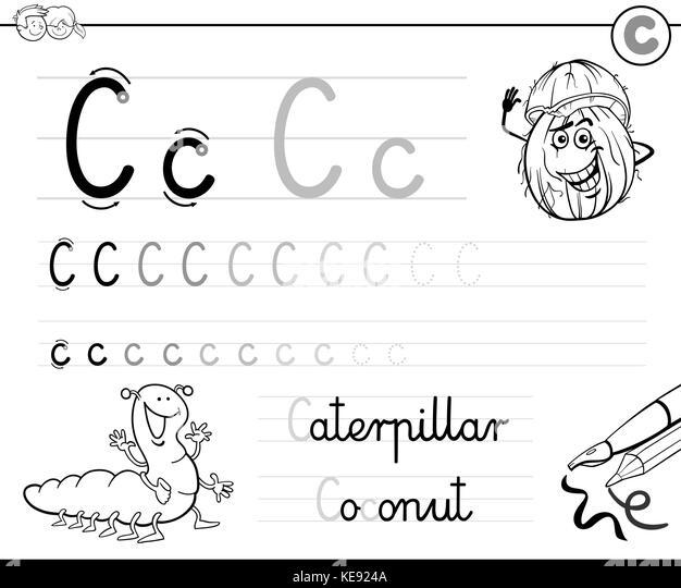 Ungewöhnlich Kindergarten Buchstabe C Arbeitsblatt Zeitgenössisch ...