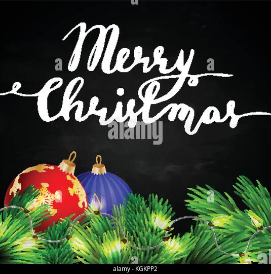 merry christmas hand lettering chalk board stockfotos. Black Bedroom Furniture Sets. Home Design Ideas