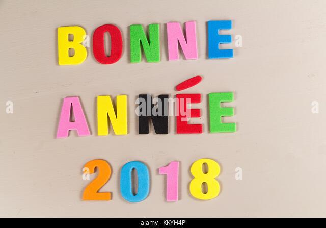 happy new year 2018 stockfotos happy new year 2018 bilder alamy. Black Bedroom Furniture Sets. Home Design Ideas