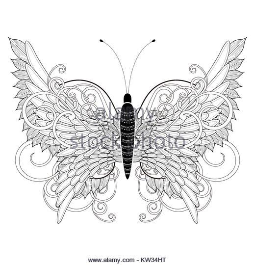 Berühmt Schmetterling Kontur Malvorlagen Fotos - Beispiel Business ...