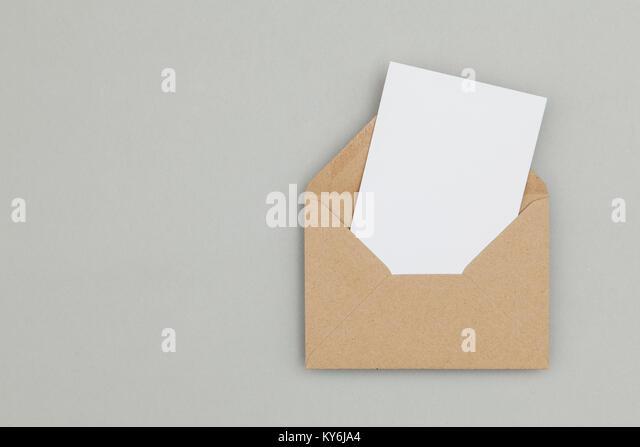 Fantastisch Leere Umschlagvorlage Zeitgenössisch ...