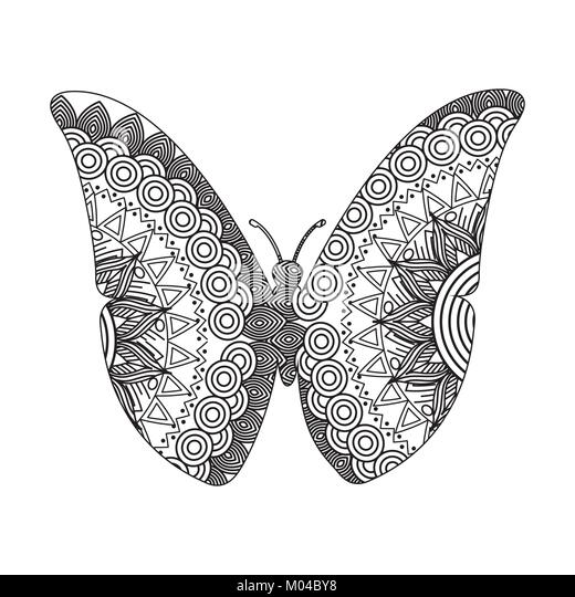 Wunderbar Süße Schmetterling Färbung Seite Bilder ...