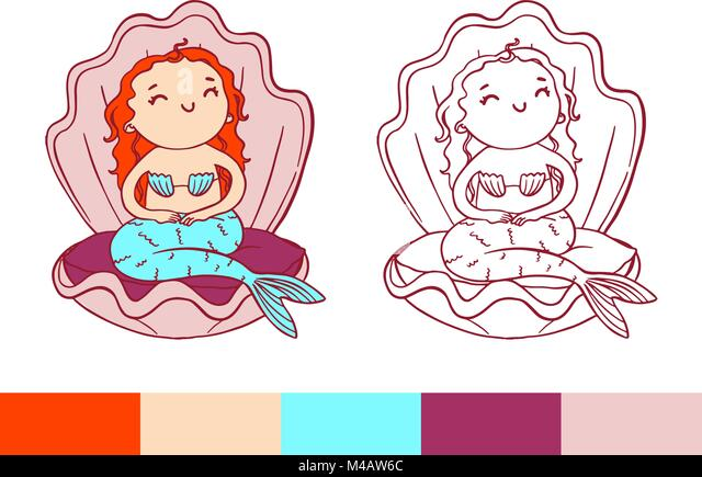 Tolle Baby Disney Färbung Seiten Ariel Fotos - Ideen färben ...