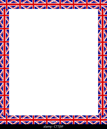 Union Jack Flag Frame Pattern Imágenes De Stock & Union Jack Flag ...