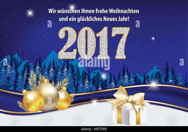Wunschen wir Ihnen Frohe Weihnachten und ein Gluckliches Neues Jahr ...